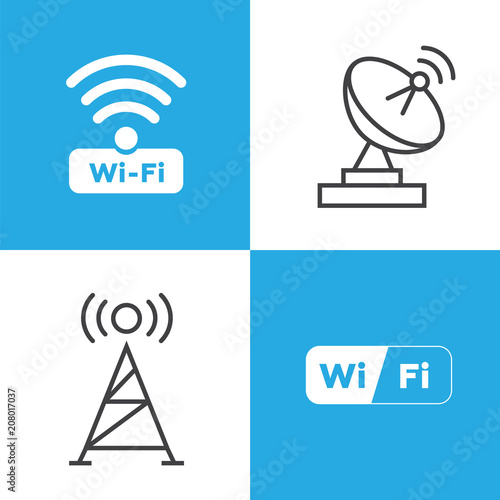 Wireless And Wifi Icons Wireless Network Symbol Wifi Icon Wireless