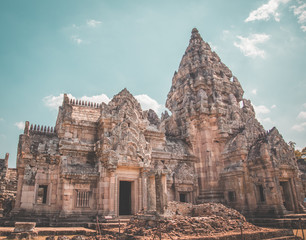 Phanom Rung Historical Park in Buriram, Thailand