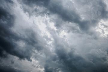 Background of dark clouds