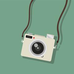hanging camera mini vector