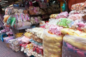 Bangkok city street market