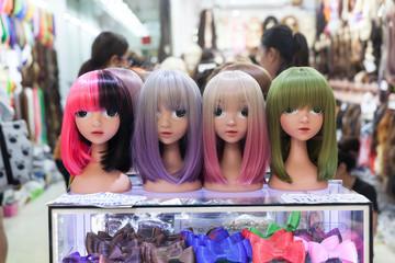 The wig shop