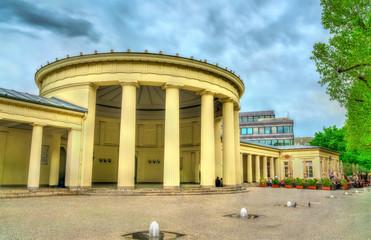 Elisenbrunnen, a classical building in Aachen, Germany