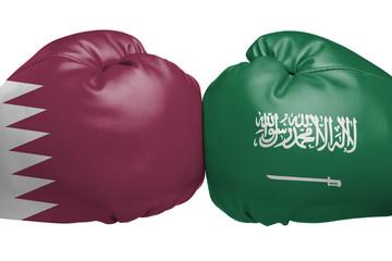 Confrontation between Saudi Arabia and Qatar