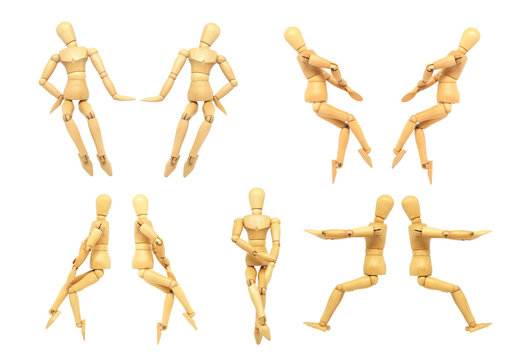 Wooden Manikin Drawing Model Human Male Manikin Jointed Mannequin Puppet Action Figure Art Drawing Sculpting Toy.