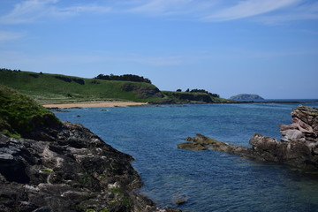 View East from Canty Bay, East Lothian