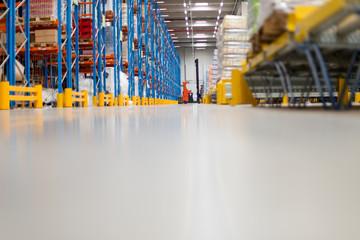 Fully stocked warehouse