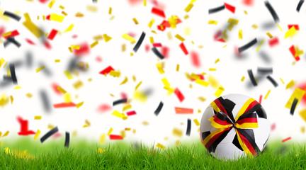 Fussball Deutschland Hintergrund