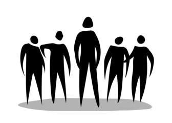Stickman Black Group