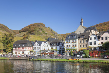 Beilstein on Moselle River, St. Joseph Church, Rhineland-Palatinate, Germany. Europe