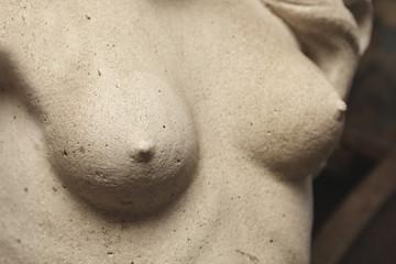sculpture poitrine buste de femme