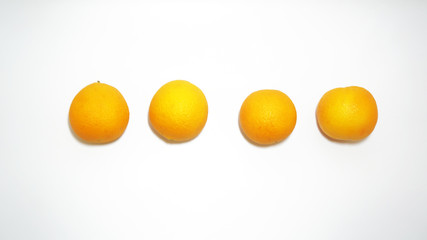 four oranges mid