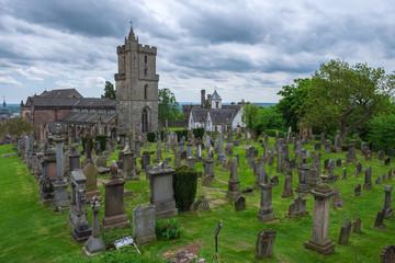 Der alte Friedhof in Stirling/Schottland
