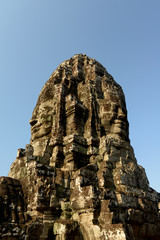 CAMBODIA SIEM REAP ANGKOR THOM BAYON TEMPLE