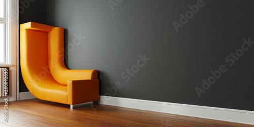 """kleine raume platzsparend einrichten, kleinen raum platzsparend einrichten mit sofa an wand"""" stock photo, Design ideen"""