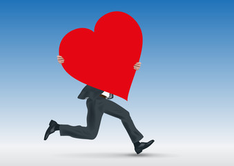 cœur - amour - je t'aime - amoureux - romantique - sentiment - déclaration - St Valentin