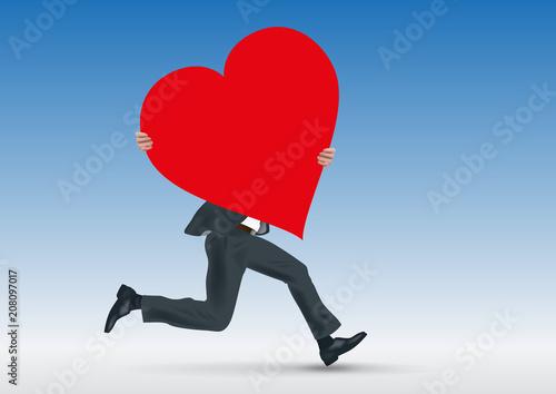 Cœur Amour Je Taime Amoureux Romantique Sentiment