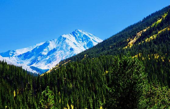 Torreys Peak with New Snow Near Denver Colorado