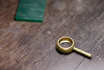 ring after casting
