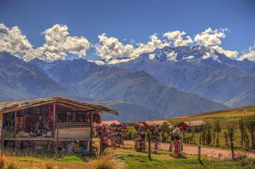 Peruvian countryside near Cuzco