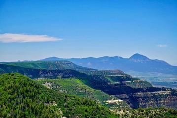 Panoramic View of Colorado Mountains