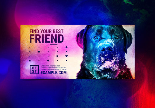 Colorful Gradient Event Flyer with Photograph