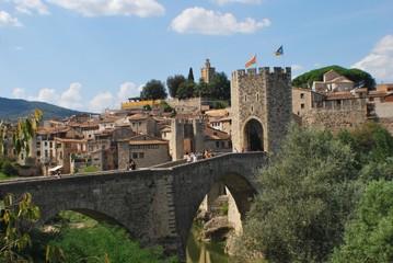 Besalu bidge, Besalu (Spain)