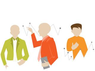 creative business info graphic element design illustration.