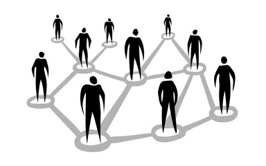 Stickman Black Network