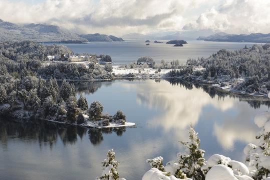 Winter Views of San Carlos de Bariloche, Patagonia, Argentina
