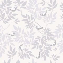 seamless branch pattern