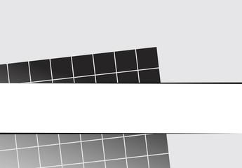 Square shape pattern design