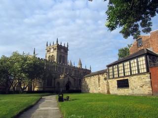 All Saints Church, Wigan, Lancashire.