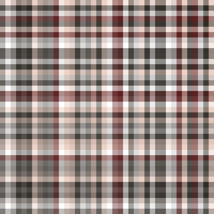 Chequered vector background. Seamless pattern.