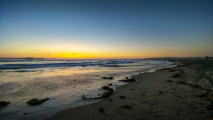 Ocean Beach Summer Sunset