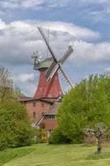 old historic windmill