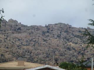 Manzanares el Real, localidad de Madrid (España) en la sierra de Guadarrama