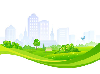 Summer city park design