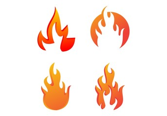 Set Fire flame logo