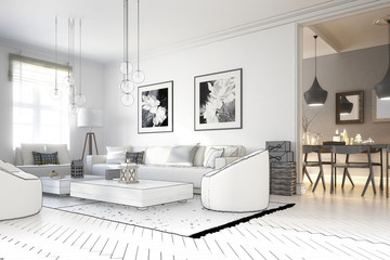 Raumadaptation: Wohnzimmer (Projekt)