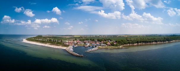 Panorama vom Timmendorfer Strand auf Poel