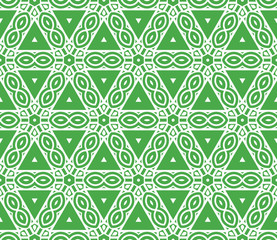 geometric seamless pattern. Vector illustration. For modern interior design, fashion textile print, wallpaper, decor panel
