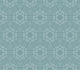 modern pattern of geometric ornament. Seamless vector illustration. for interior design, printing, wallpaper.