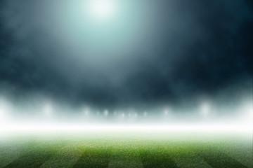 soccer field stadium background