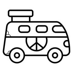 Hippie style icon