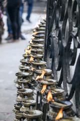 Kerzen Ritual