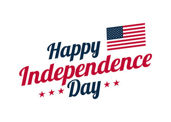 Background banner for 4th july, Independence Day. USA celebration. Vector design Happy Independence Day