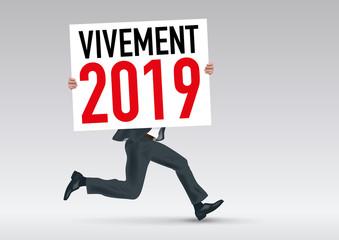 2019 - présentation - objectif - futur - avenir - projet - réussite - succès - concept - année - vision