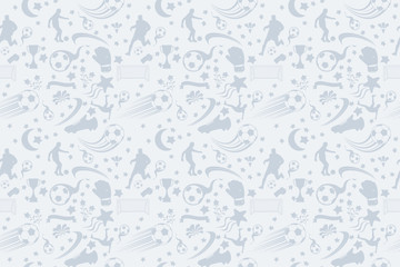 soccer pattern seamless tileable