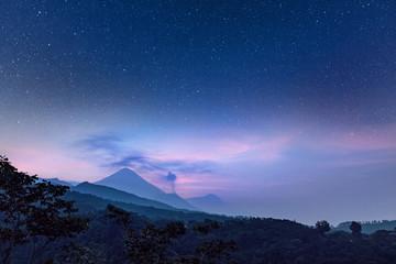 Volcanes Santa María y Santiaguito, Guatemala